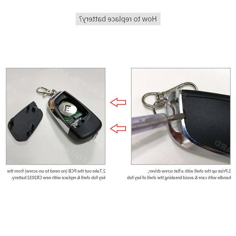 Smart Alarm Entry Push Button Start Start Auto