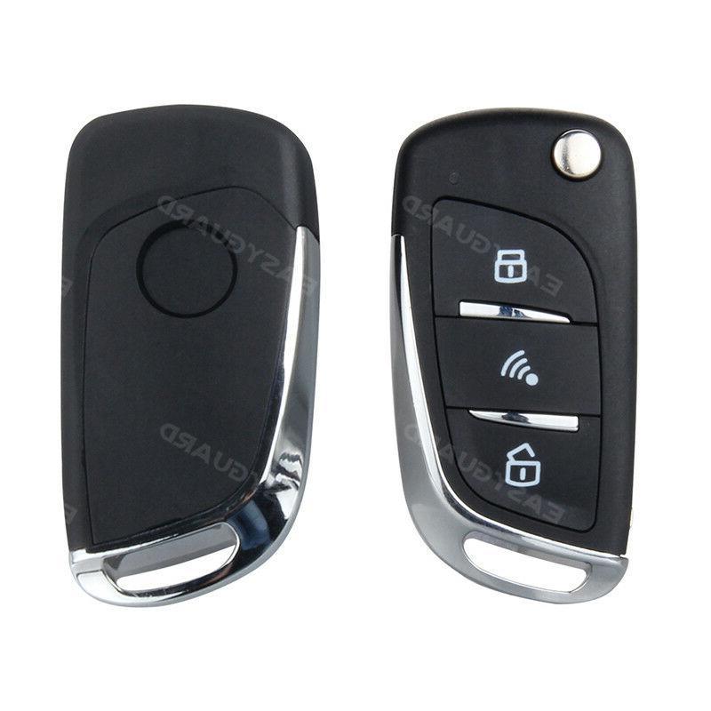 Smart Key PKE Car Alarm Passive Entry Start Remote Engine Start Auto