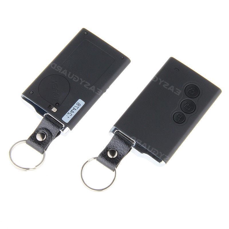 EASYGUARD smart key car alarm remote start keyless go password entry