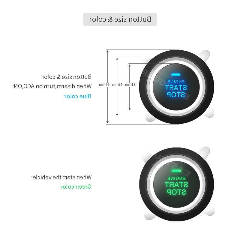 EASYGUARD car alarm system remote start go password entry