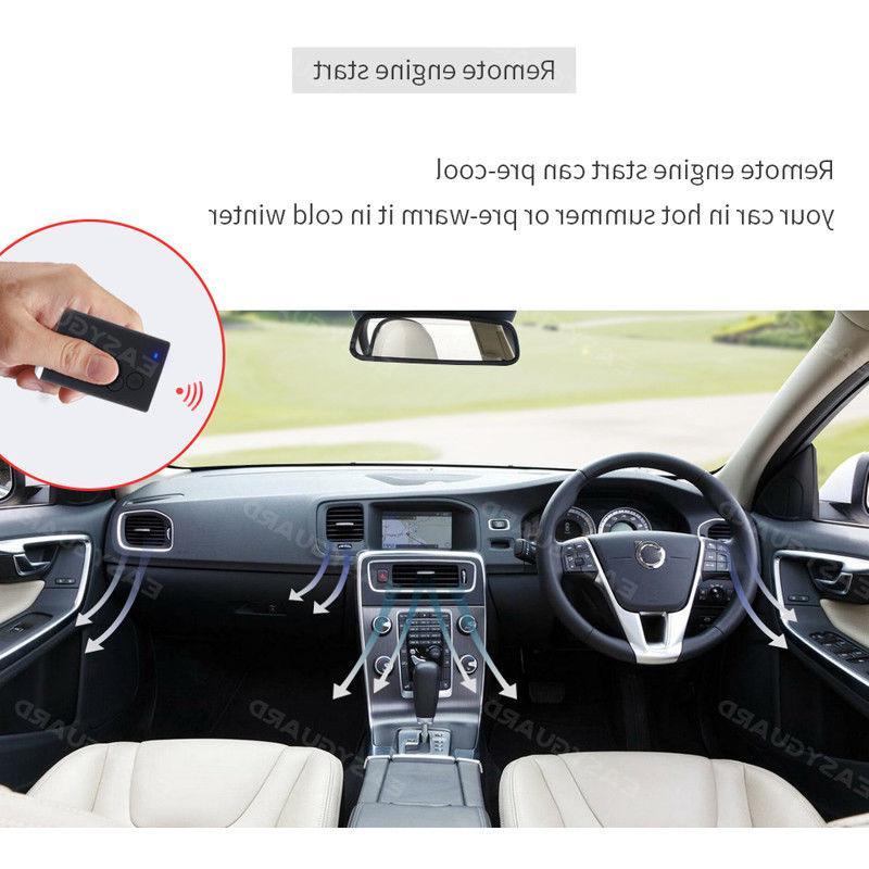 car alarm remote start keyless password