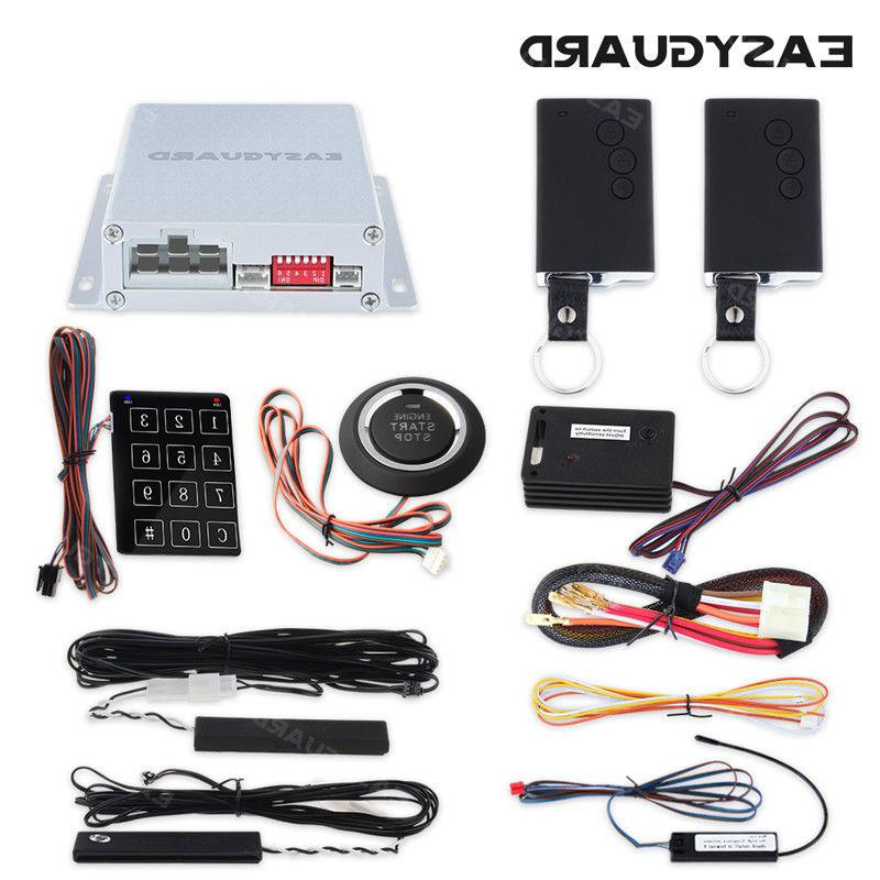 smart key pke car alarm system remote