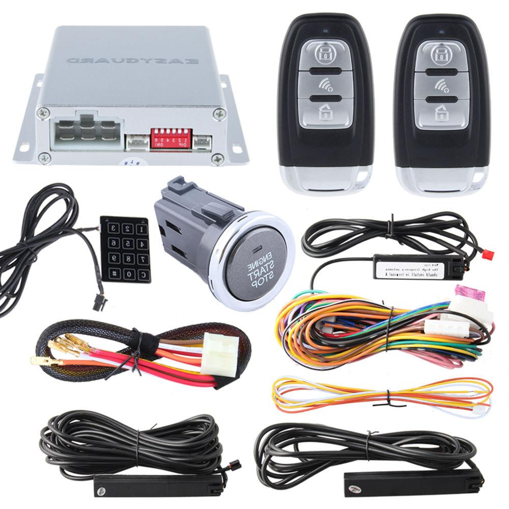 Easyguard Smart Keyless Entry Car Alarm System Remote