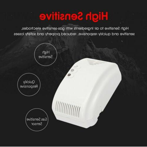 smart voice gas alarm system household leakage