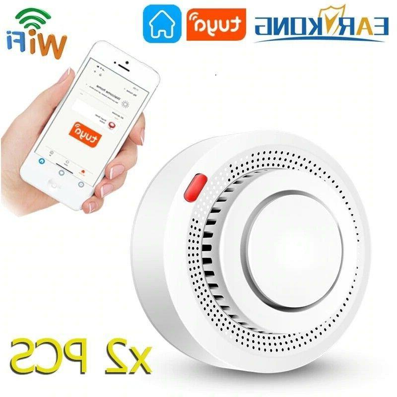 smoke detector fire alarm protector 2 4g