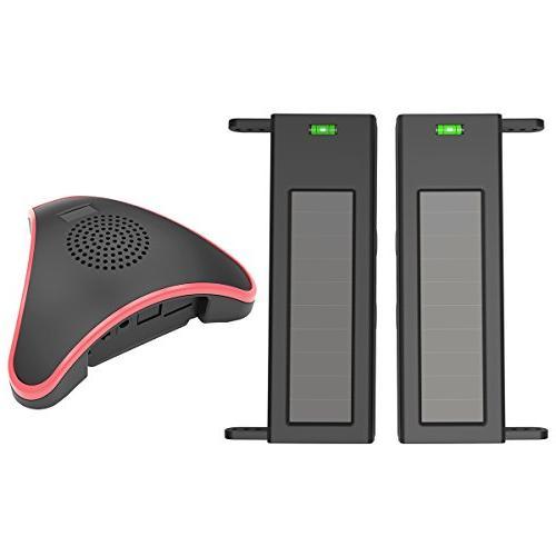 solar wireless driveway alarm system
