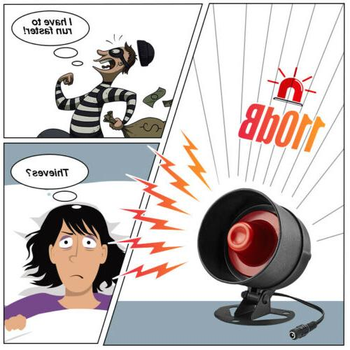 KERUI Anti-theft System 110dB Speaker Security