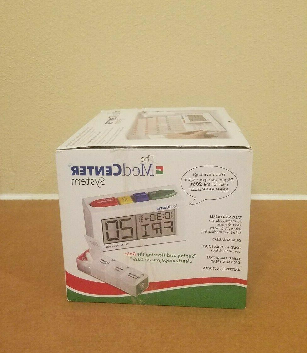 MedCenter Pill Organizer Dispenser