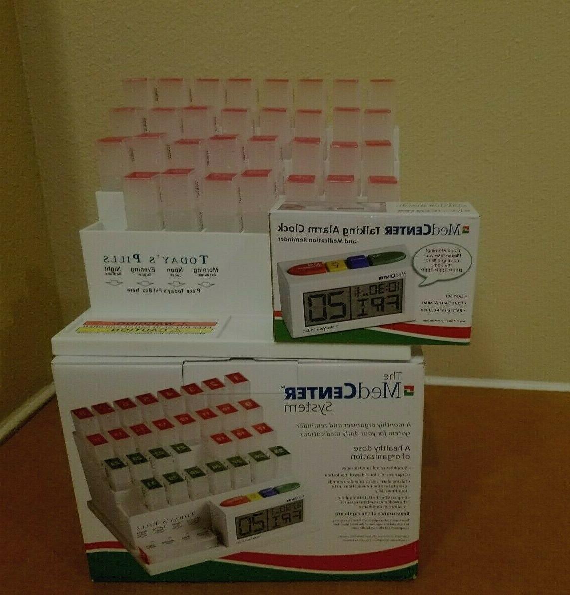 system monthly pill organizer dispenser w alarm