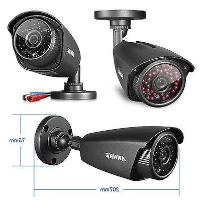 ANNKE HD TVI Cameras DVR System Email Alarm