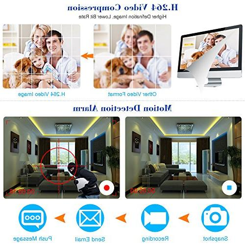 OWSOO Cameras 16 Channel H.264 P2P CCTV Security Control Detection Email Surveillance IP Camera