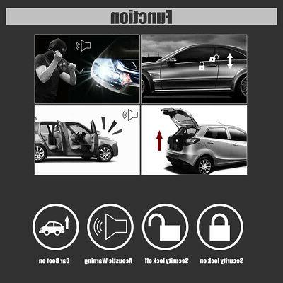 Universal Car Security Keyless 2