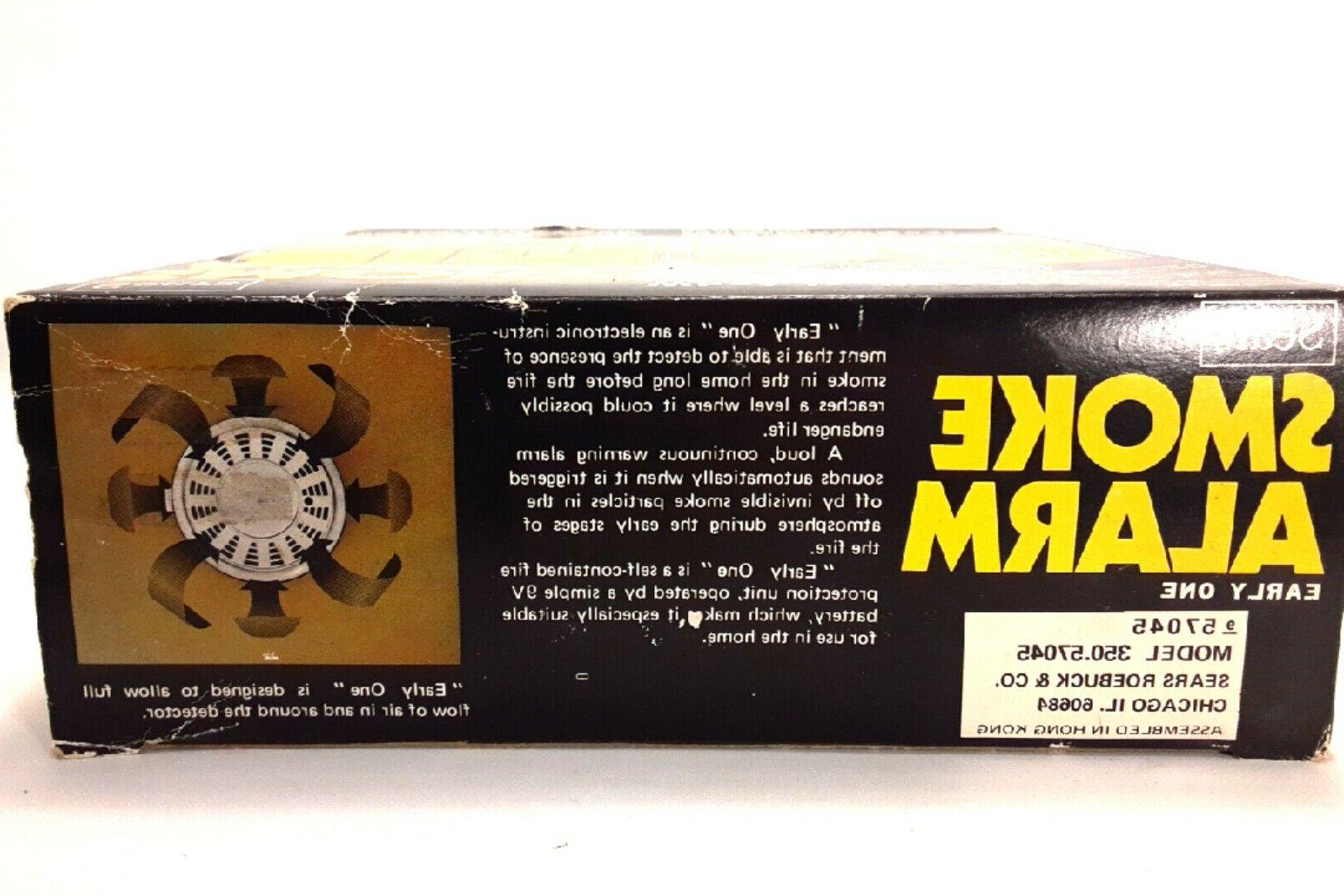 "Vintage Sears Smoke w/ ""Early System Technology"