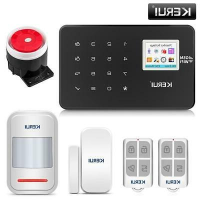 KERUI 1.7 TFT Home System Motion