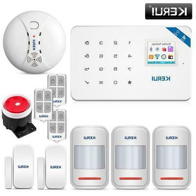 KERUI TFT Screen Home Burglar System Motion