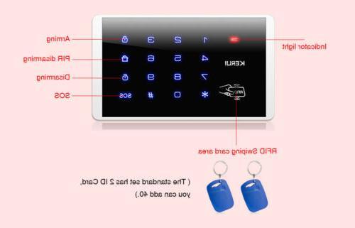 KERUI W18 Home Burglar System Accessories Lot