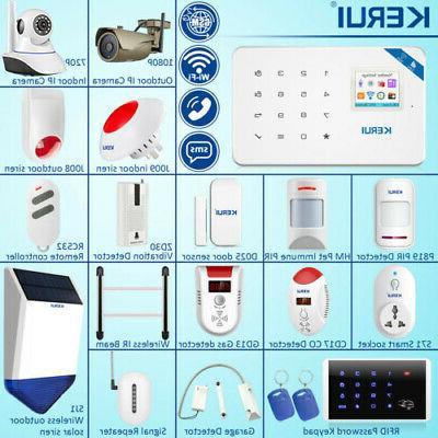 w18 wifi gsm home burglar security alarm