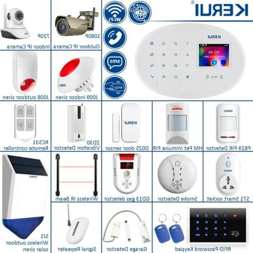 KERUI W20 WiFi SMS RFID Security Alarm System Lot