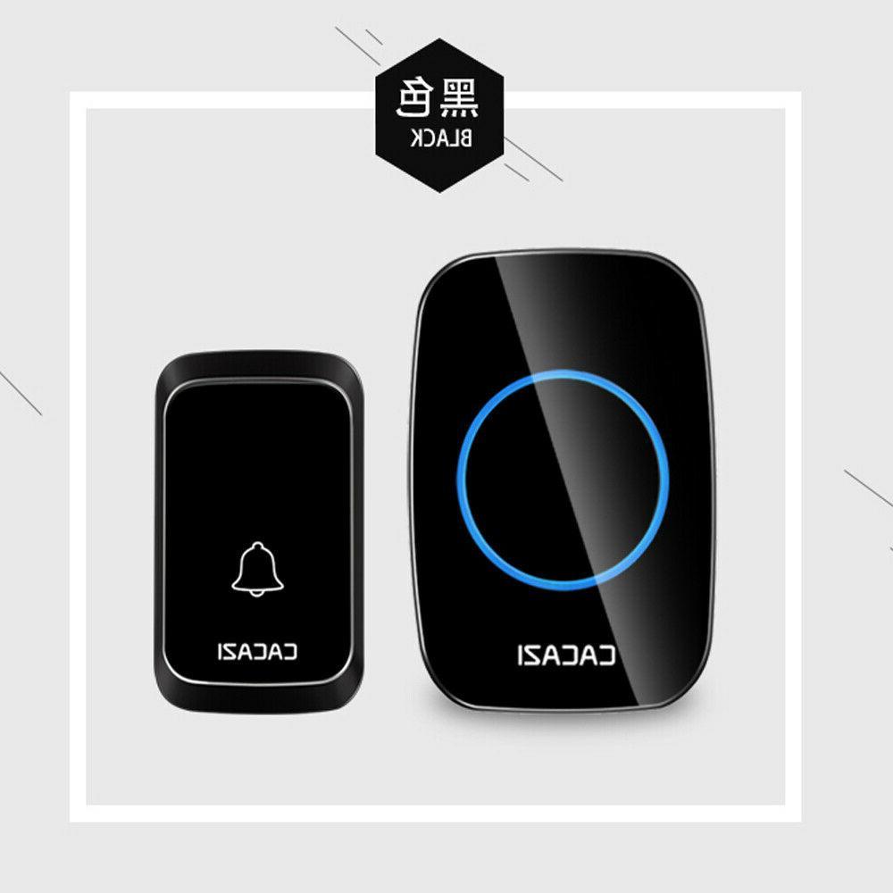 Waterproof Doorbell Cordless Digital Remote Security System