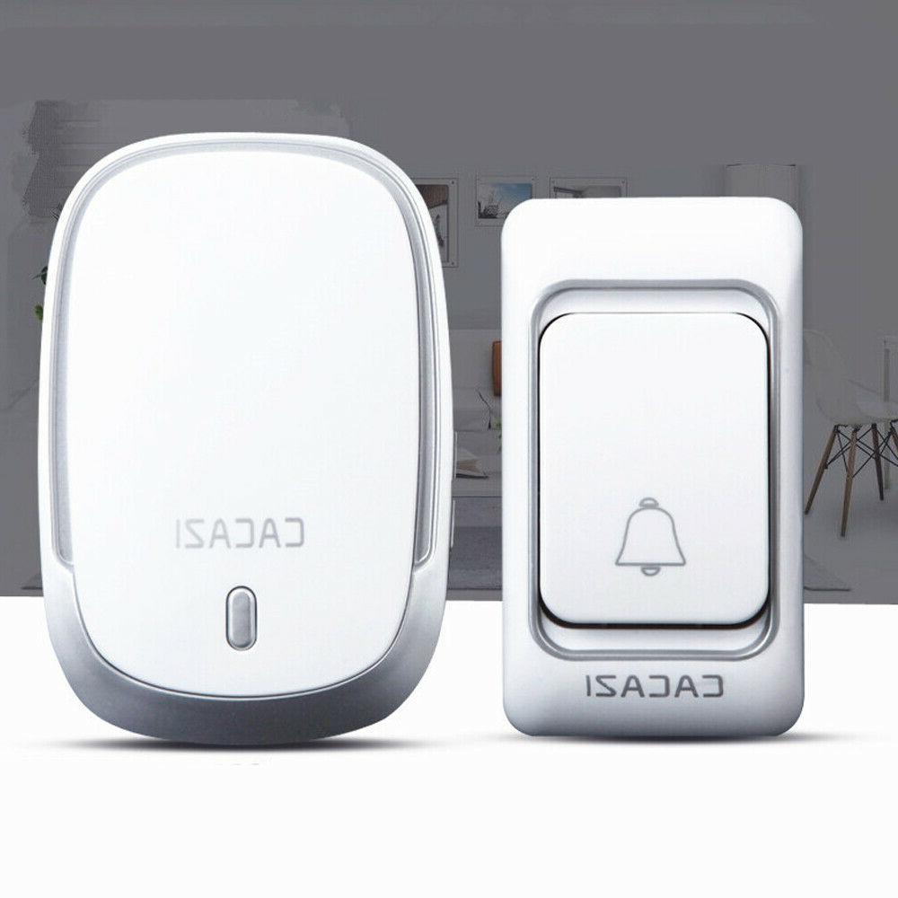 Waterproof Wireless Doorbell Motion digital Chime Cordless S