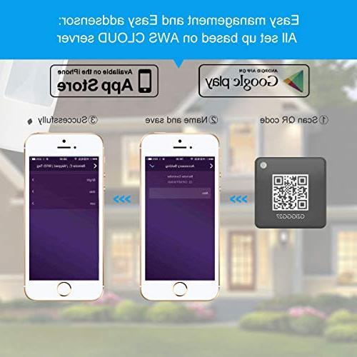 LarmTek WiFi Alarm with Host, Sensor Phone Wireless Wi-Fi Home Security