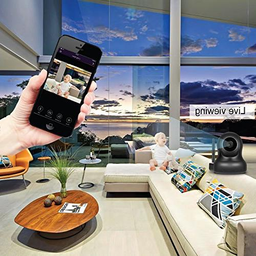 LarmTek WiFi Alarm with Alarm Sensor and Remote Smart Phone Wireless LAN Wi-Fi GSM Cellular Security DIY Setup,