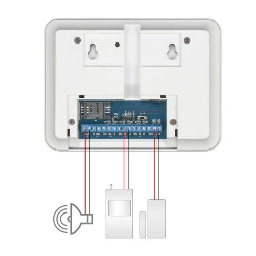 Golden Wireless Security WIFI GSM GPRS Alarm System Control