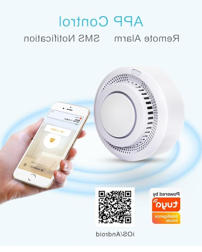 WiFi Protection Smokehouse Smart Alarm Home System