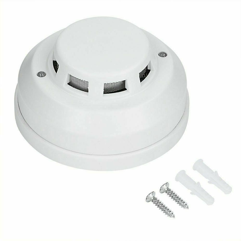 wired 12v smoke detector normally open or