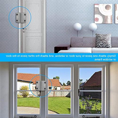 OWSOO Wired Gate Window Magnetic Alarm Switch Detector Alarm