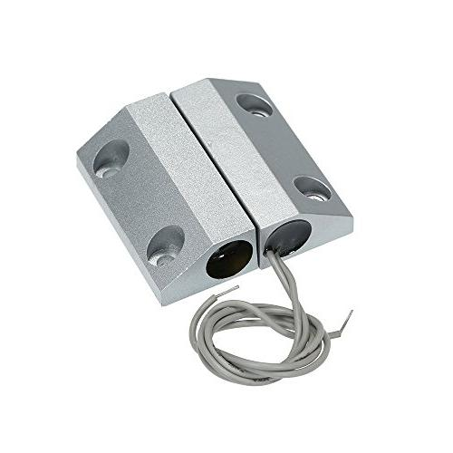 OWSOO Wired Gate Window Magnetic Switch Detector Access System