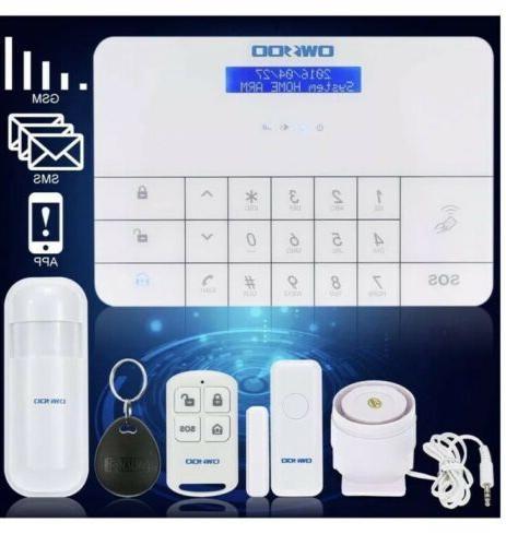 OWSOO LCD Keypad House Burglar