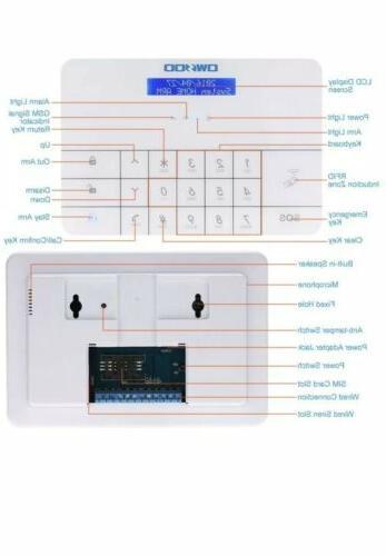OWSOO LCD Burglar Security System