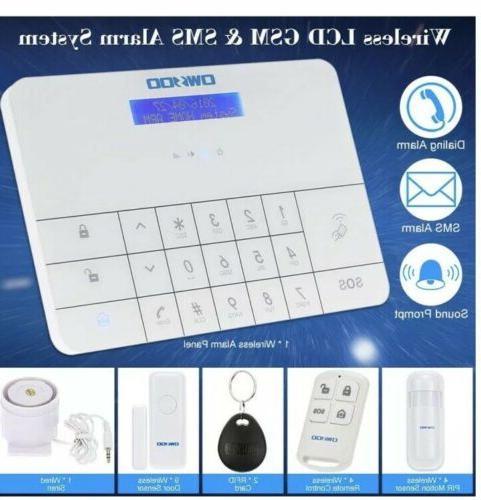 OWSOO Wired/WiFi Keypad Burglar System