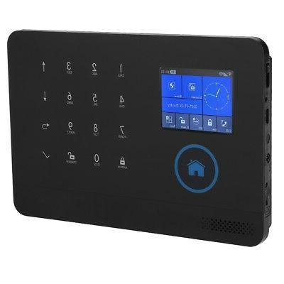 Wireless 3G/GSM+GPRS Video Alarm Smart Home Alarm System Kit
