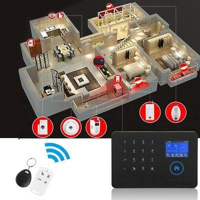 Wireless 3G/GSM+GPRS WiFi Alarm Smart Security Alarm