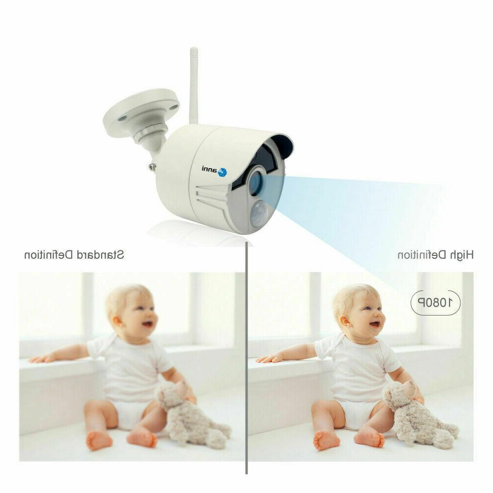 Wireless 2MP IP Security Camera WiFi CCTV