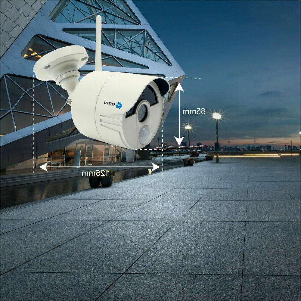 Wireless 4CH 2MP Smart Home IP WiFi CCTV