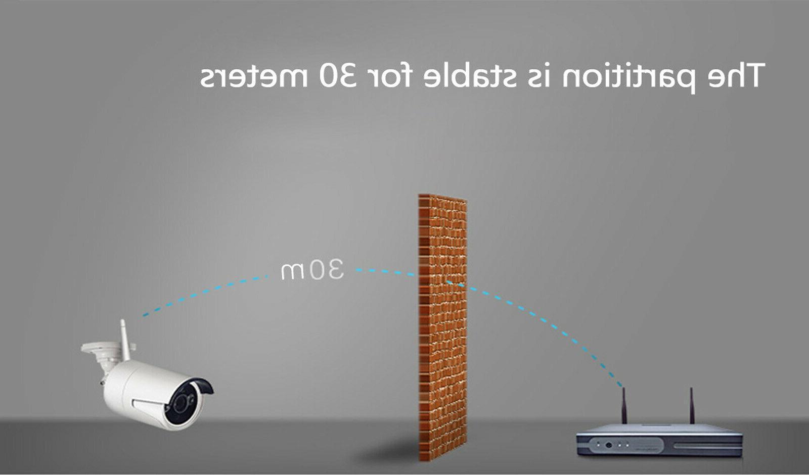 Anni 1080P NVR WIFI Camera Security Video