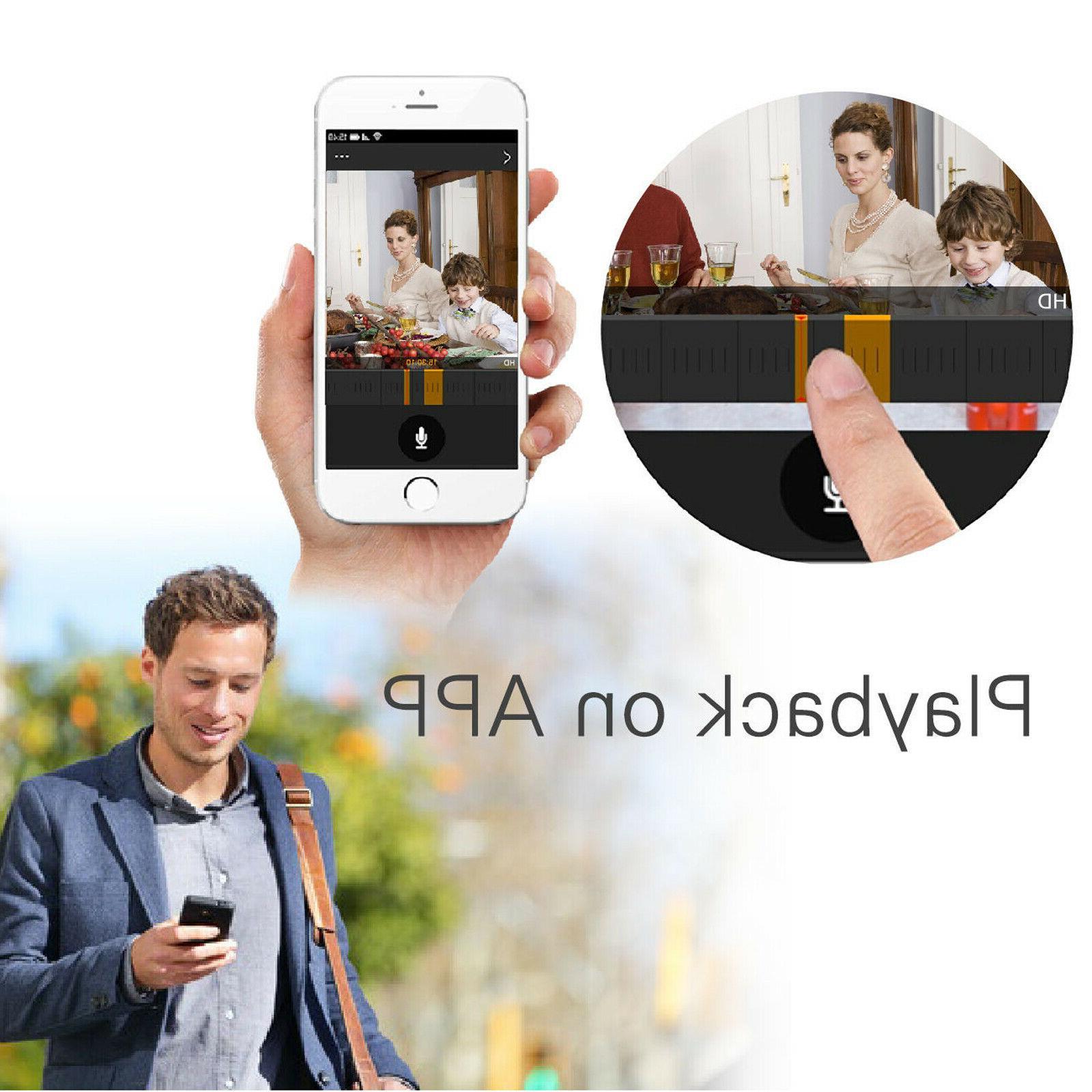 Anni 8CH NVR Home WIFI Camera Video