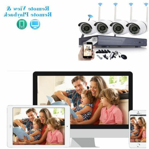 Wireless 1080P Outdoor WIFI Security System