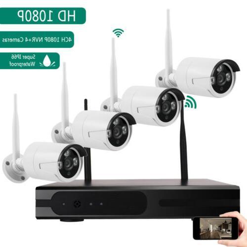wireless 4ch 1080p nvr wifi ir night