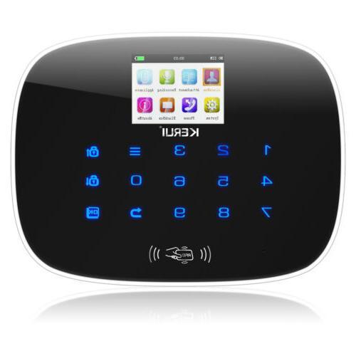 Wireless W193 3G WIFI Home Security Alarm Lot
