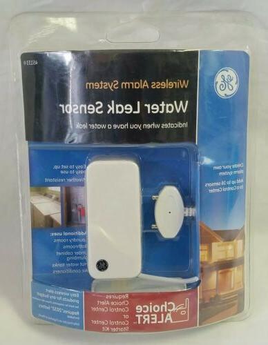 wireless alarm system water sensor