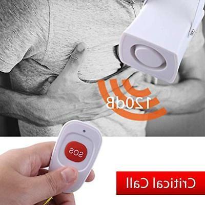 Wireless Burglar Alarm System GSM LCD Anti-theft Siren