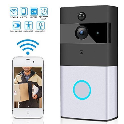 wireless doorbell wi fi enabled