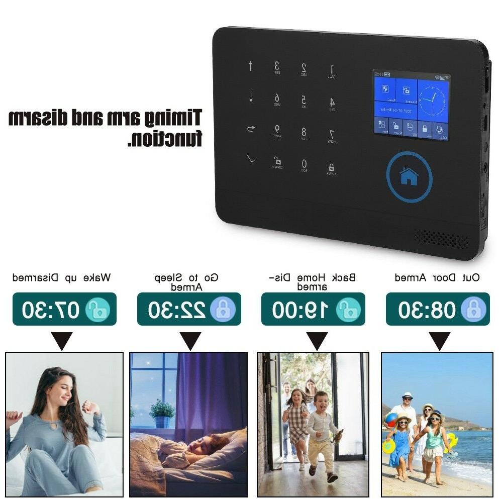 Wireless GSM WiFi Video Smart Kit for Security Lot