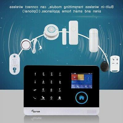Wireless GSM+GPRS+WIFI Intelligent Video Alarm Home Security