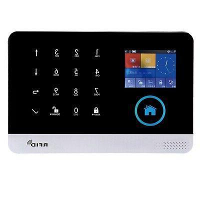 Wireless GSM+GPRS+WIFI Alarm