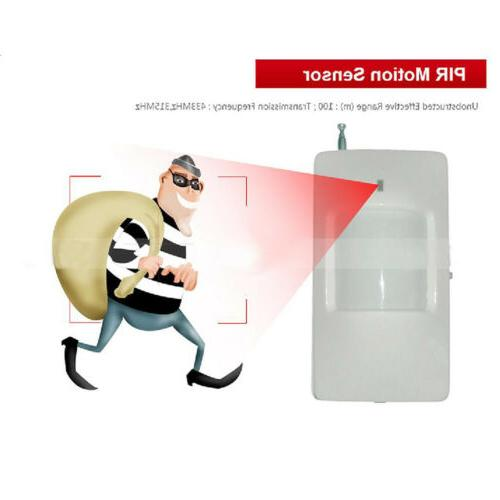 Wireless GSM Touch Remote Sensors Siren System